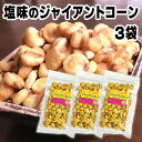 楽天江戸商人 楽天市場店お買得SALE 塩味のジャイアントコーン 3袋 送料無料 業務用 ナッツ トウモロコシ お試し