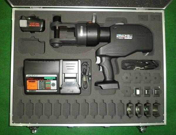 泉精器 電動油圧式圧着工具 REC-Li325 新品 道具・工具・園芸用品プロショップ!全品安心保証付!