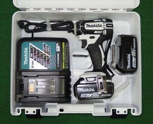 マキタ 18V防塵防滴インパクトドライバー TD149DRFXW フルセット 白 新品!