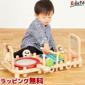 知育玩具 木のおもちゃ メロディベンチ&ウォールトイ