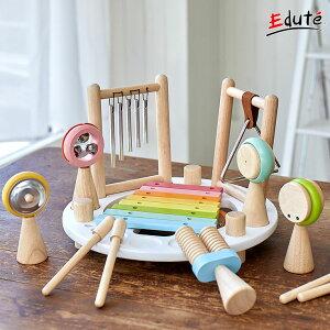 知育玩具 木のおもちゃ エデュテ限定 メロディーゴー