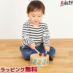 知育玩具 木のおもちゃ クラシックドラム アイムトイ