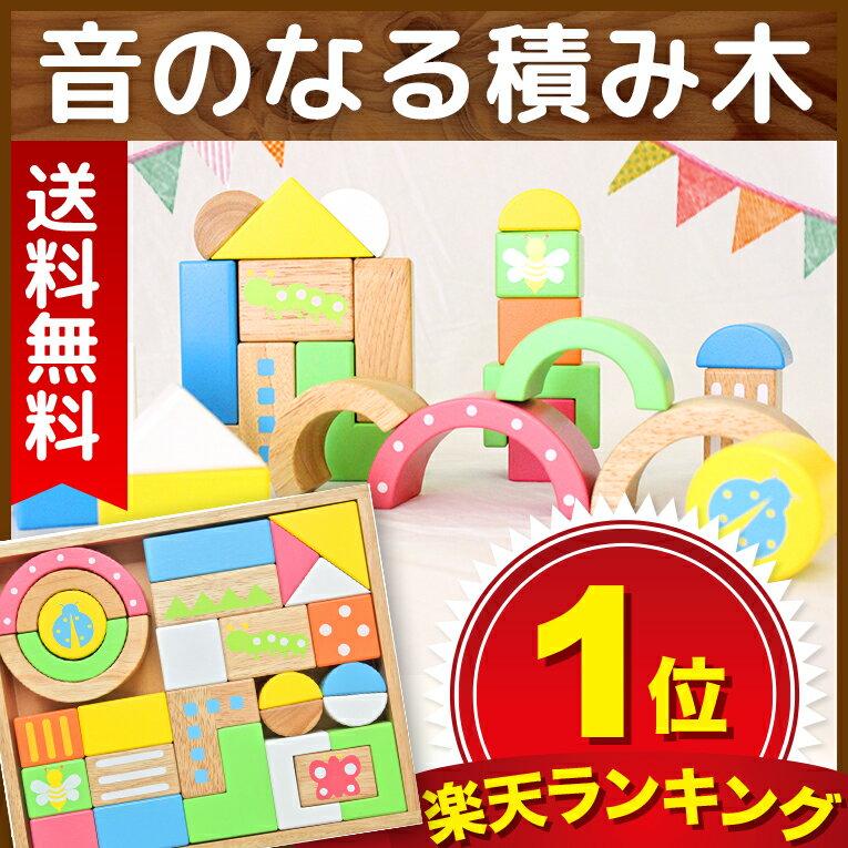 【エデュテの木のおもちゃ】SOUNDブロックスLarge(知育玩具 出産祝い 誕生日プレゼ…...:edute:10000300