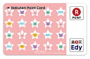 ショッピングPSP Edy‐楽天ポイントカード クラフトホリック(ピンクスターパターン)