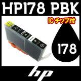 【墨粉/互换墨水·IC芯片附着】hp(惠普���型号∶HP178XLPBK(照片黑)【放心的1年保证】[【プリンターインク/互換インク・ICチップ付き】hp(ヒューレット・パッカード)型番:HP178XLPBK(フォトブラック)【安心
