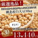 平成28年度産【大豆/おおつる】30kg/30キロ【送料無料・送料込み(一部除く)】有機肥料100%