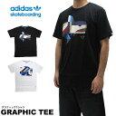 adidas アディダス Tシャツ adidas skateboarding アディダス スケートボーディング 半袖Tシャツ GRAPHIC TEE S/S T-SHIRT トレフォイル ストリート スケートボード スケボー 【5400円以上で送料無料・メール便対応・メンズ】