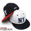 【送料無料】NY ニューヨーク ストライプBBキャップ 帽子 30062 NewEra ニューエラ STUSSY ステューシー スナップバック ストリート カジュアル 【10800円以上で送料無料・メール便不可・メンズ・レディース】02P03Dec16