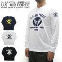 U.S. AIR FORCE ユーエスエアフォース Tシャツ 長袖 RANDOLPH A.F.BAS