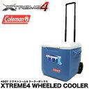 クーラーボックス コールマン エクストリーム 40QT 3000002115 ホイールクーラー 37.9L COLEMAN XTREME WHEELED COOLER ハードクーラー 02P03Dec16