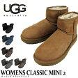 エントリーでポイント10倍UGG ムートンブーツ WOMENS CLASSIC MINI II アグ オーストラリア クラシックミニ2 レディース 1016222 02P01Oct16
