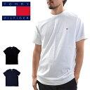 【メール便配送】トミー ヒルフィガー tシャツ 09T3139 ベーシック コットン コア フラッグ 大きいサイズ 半袖 無地 下着