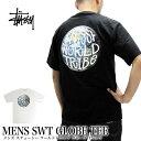 ステューシー Tシャツ 半袖 STUSSY 1903923 ステューシー ワールド トライブ グローブ Tシャツ SWT GLOBE TEE 02P03Dec16