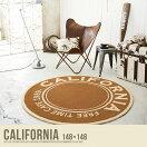 ラグマット California ラグマット【148×148】