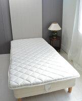 抗菌・防臭・防ダニわた使用日本製軽量3層敷布団■シングルロング