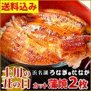【土用の丑の日】送料無料!国産鰻カット蒲焼2枚セットお中元ギフト[pon-2]簡易箱AAあ