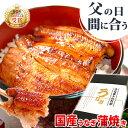 父の日 まだ間に合う 父の日プレゼント 食べ物 国産 うなぎ 父の日 ギフト 送料無料 鰻 蒲焼き ギフトセット 85〜95g2枚 pon-2