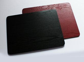 木材表面長度角墊漆油漆 42 釐米 (木託盤託盤託盤託盤懷石料理的餐碟禪邦) 001-187 [fs01gm] fs2gm