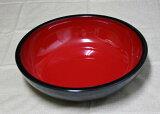 一个多功能,方便搅拌碗丰盛的纪州漆器。纪州漆器工艺品红色搅拌碗Kurouchi14.0英寸(笙壶,壶重)001-282[伝統工芸 紀州漆器 こね鉢 14.0寸 黒内朱、han(盛鉢、多用鉢、寿司鉢、蕎麦、そば、ソバ) 001-282【