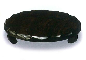 Wooden flower stand and round with Black Temple of style No. 10 001-986 (flower cars) fs2gm