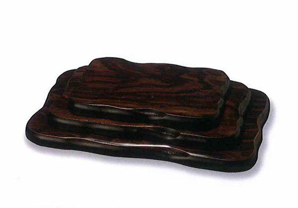 Wooden flower stand plate Black Temple of style No. 8 001-1007 (flower cars) fs2gm
