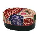 布貼 小判 コンパクト弁当 桜ピンク(弁当箱 ランチボックス 布貼 ギフト かわいい 和風) 001-1730 (たつみや)