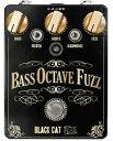 【レビューを書いて次回送料無料クーポンGET】BLACK CAT Bass Octave Fuzz Pedal エフェクター [並行輸入品][直輸入品] 【ブラックキャット】【ファズ】【ベース・オクターブ・ファズ】【新品】【RCP】