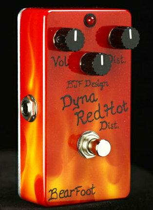 【レビューを書いて次回送料無料クーポンGET】BearFoot Guitar Effects Dyna Red Dist. Hot Custom エフェクター【メーカー1年保証】【ベアフット】【ディストーション】【新品】【RCP】 【メーカー1年保証】あさい