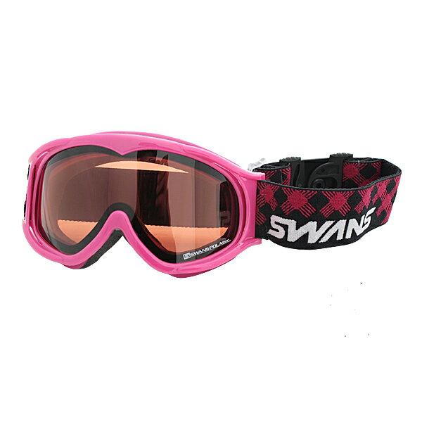 SWANS(スワンズ)ジュニアダブルレンズスキーゴーグルCOUPEMINIPDH12PIN(ピンク)