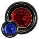 オートゲージ EVOシリーズ ブースト計 52Φ デジタルLCD デジタルメーター ブルー/レッド