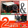 オートゲージ ブースト計 RSM 52Φ エンジェルリング/ホワイトLED + 補修用センサー 【2点セット】