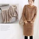 ショッピングセットアップ 2点 ニットアップ♪ セーター & スカート  【在庫わずか】