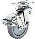 ハンマー クッションキャスター 自在 SP付 ウレタン車 線径2.3mm 935BBEBLB10023BAR01