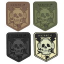 在庫販売 HAZARD4 ハザード4 skull スカルパッチ ドクロ 日本正規品