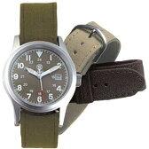 在庫販売 Smith&Wesson スミス&ウェッソン Military ミリタリーODフェイスウォッチ/腕時計 SWW−1464OD 3チェンジャーブルストラップ