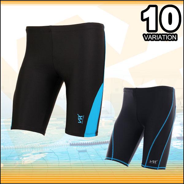 フィットネス水着 メンズ VAXPOT(バックスポット) フィットネス 水着 VA-5100【男性用 水着 スイムウェア パンツ 大きいサイズ あり スイミング 水泳】【ラッシュガード メンズ スイムゴーグル や スイムキャップ と合わせて】