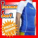半袖ラッシュガード■UPF50+■TasmaniaSurf■紫外線対策、保温効果抜群