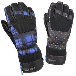 スキー グローブ スノーボード グローブ レディース メンズ VAXPOT(バックスポット) スノーボードグローブ スキーグローブ VA-3956【<strong>防水</strong> 透湿 耐水 撥水 加工 Thinsulate 中綿 入り <strong>手袋</strong> スノボ スノーグローブ】