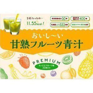 【あす楽】[在庫一掃セール]D.N.A おいしーい甘熟フルーツ青汁 3GX30包【賞味期限2019年12月】