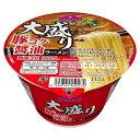 【セット販売】トップバリュ 大盛り 豚コク醤油ラーメン 112GX12個セット