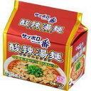 【セット販売】サンヨー サッポロ一番 酸辣湯麺 5個パックX6個セット