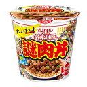 日清食品 カップヌードル 謎肉丼 111G×6個セット