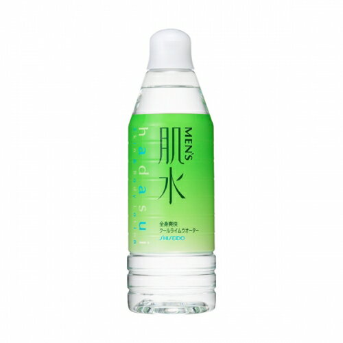 資生堂 メンズ肌水 ライム クールウオーター (ボトル) 400ML