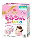 【ケース販売】森永エコらくパックつめかえ用E赤ちゃん400GX2袋X12箱セット【】