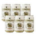 シンハービール 330ml缶 6本
