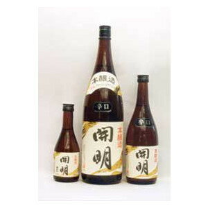 本醸造 開明 1800ml (株)元見屋酒店の商品画像