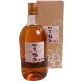全日空ファーストクラスの梅酒に採用萬歳楽 加賀梅酒 専用箱入り 720ML