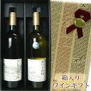 ギフト箱入り グレイスワイン 茅ヶ岳(赤) 750ML&グレイスワイン グリド甲州(白) 720ML