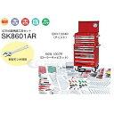 メーカー直送業者便 KTC ハイメカツールセット 435点 レッド SK8601AR 工具セット