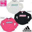 adidas(アディダス) ジュニア (キッズ、女の子) Tシャツ 長袖 フィットネスウェア bbq82